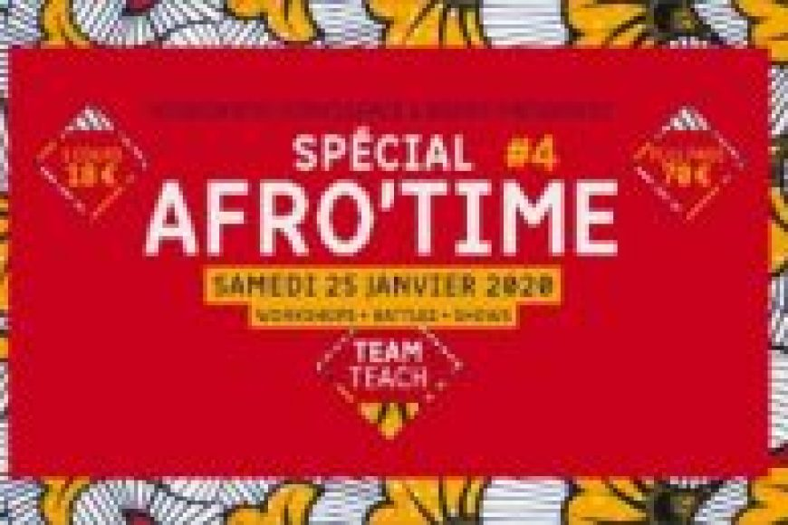 25 JANVIER – AFROTIME #4