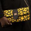 Mode africaine femme 2020 pochette plate en wax - Afrhika store boutique à toulouse