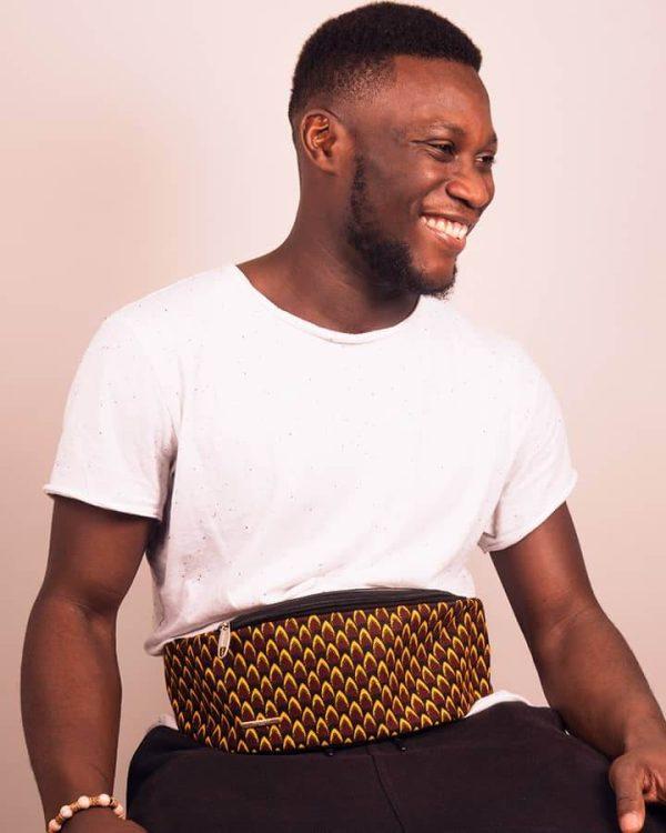 Mode africaine homme 2020 banane en wax - Afrhika store boutique à toulouse