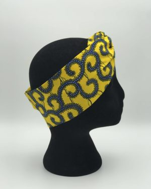 Mode africaine femme 2020 bandeau head band en wax - Afrhika store boutique à toulouse