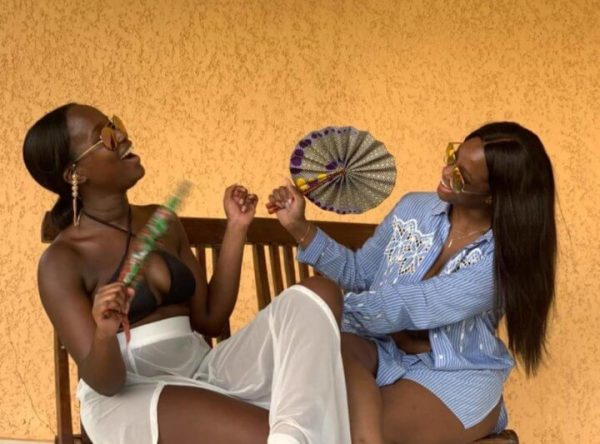 Mode africaine femme 2020 eventail en wax - Afrhika store boutique à toulouse