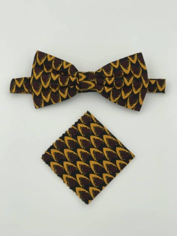 Mode africaine homme 2020 noeud papillon en wax - Afrhika store boutique à toulouse