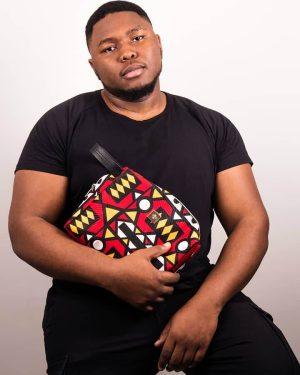 Mode africaine homme 2020 trousse en wax - Afrhika store boutique à toulouse