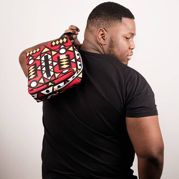 Mode africaine homme 2020 trousse en wax - Afrhika store boutique à toulouse