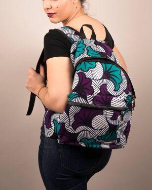 Mode africaine femme 2020 sac a dos en wax - Afrhika store boutique à toulouse