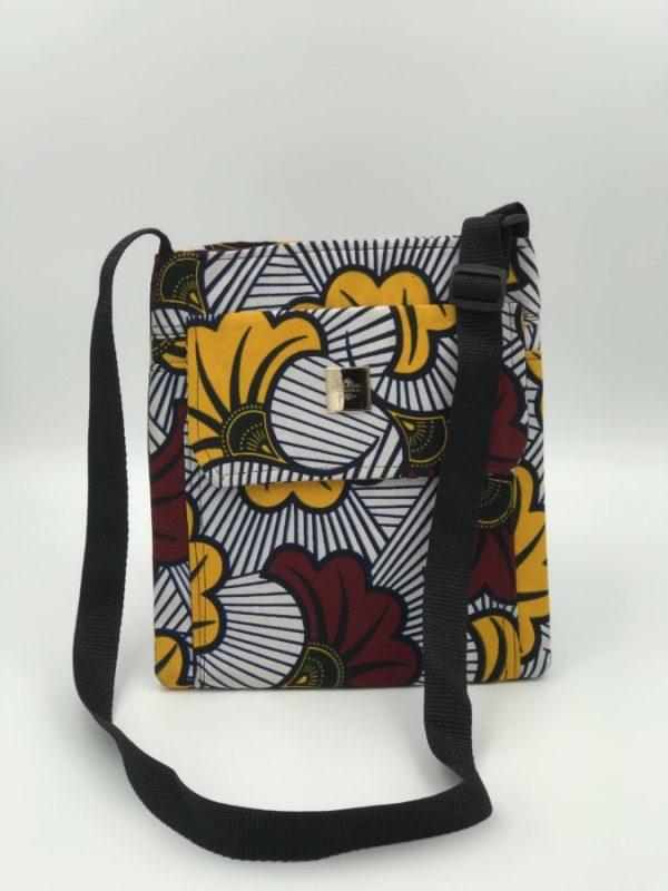Mode africaine femme 2020 sac besace en wax - Afrhika store boutique à toulouse