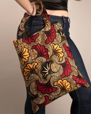 Mode africaine femme 2020 tote bag en wax - Afrhika store boutique à toulouse