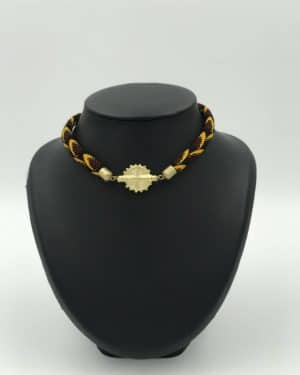Mode africaine femme 2020 collier en wax - Afrhika store boutique à toulouse