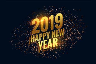 BONNE ANNÉE !! Meilleurs voeux 2019