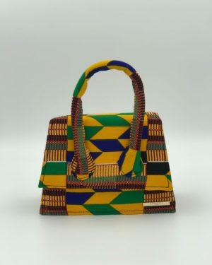 Mode africaine femme 2020 pochette sac à main en wax - Afrhika store boutique à toulouse