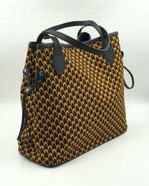 Mode africaine femme 2020 sac cabas trapeze en wax - Afrhika store boutique à toulouse