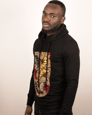 Mode africaine homme 2020 sweat à capuche hoodie en wax - Afrhika store boutique africaine à toulouse