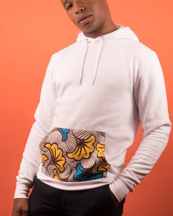 Mode africaine homme 2020 hoodie en wax - Afrhika store boutique à toulouse