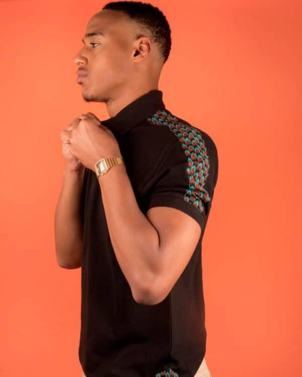 Mode africaine homme 2020 polo en wax - Afrhika store boutique à toulouse