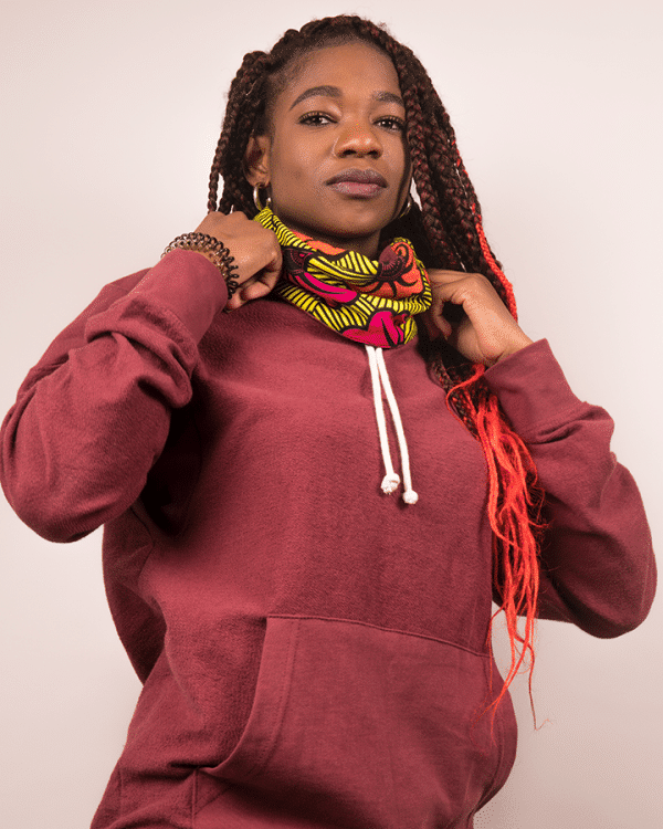 Mode africaine femme 2020 sweat en wax - Afrhika store boutique africaine à toulouse