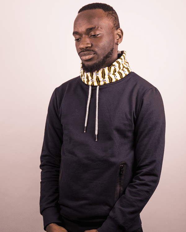 Mode africaine homme 2020 sweat en wax - Afrhika store boutique africaine à toulouse