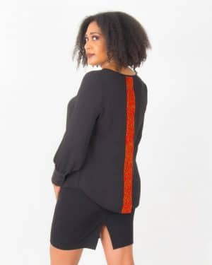 Mode africaine femme 2020 chemisier en wax - Afrhika store mode africaine wax à toulouse