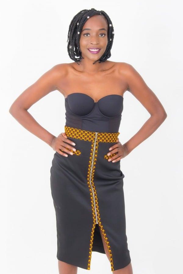 Mode africaine femme 2020 jupe en wax - Afrhika store boutique à toulouse