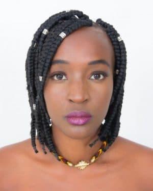 Mode africaine femme 2020 bijoux collier en wax - Afrhika store boutique à toulouse