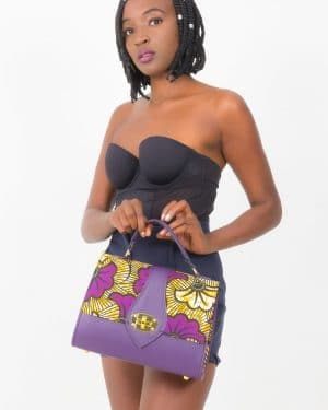 Mode africaine femme 2020 sac à main en wax - Afrhika store boutique à toulouse