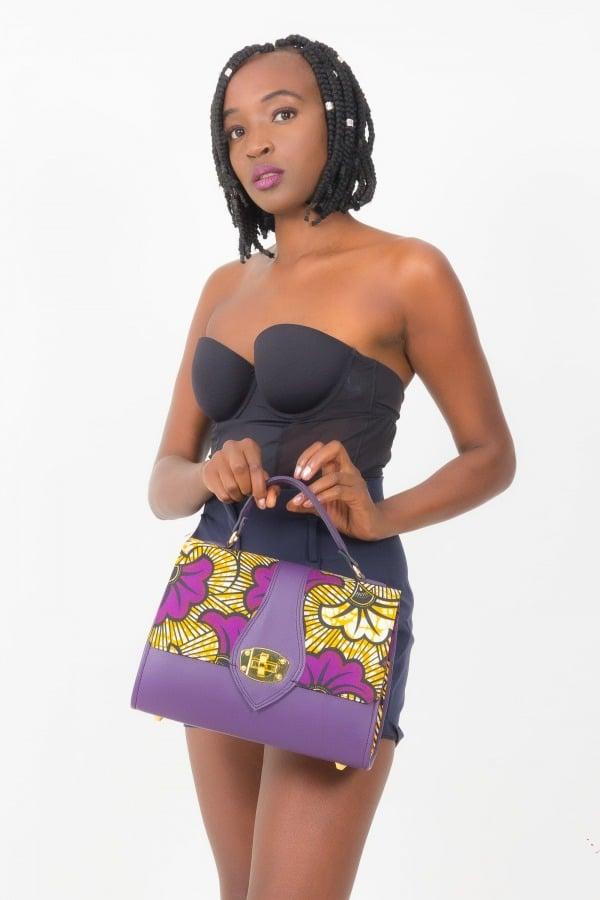Mode africaine femme 2020 sac à main en wax - Afrhika store boutique à toulouse