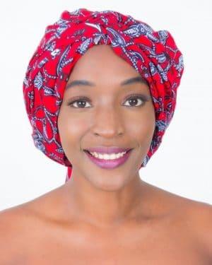 Mode africaine femme 2020 head wrap en wax - Afrhika store boutique à toulouse