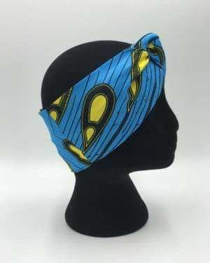 Mode africaine femme 2021 head band bandeau en wax - Afrhika store boutique à toulouse