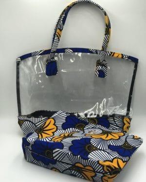 Mode africaine femme 2021 sac a main en wax - Afrhika store boutique à toulouse