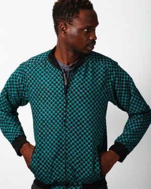 Mode africaine homme 2021 bombers en wax - Afrhika store boutique mode africaine à toulouse