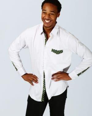 Mode africaine homme 2020 chemise en coton et wax - Afrhika store boutique de mode africaine à toulouse