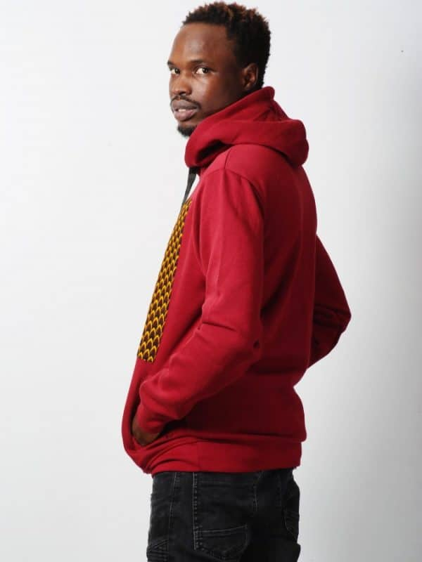 Mode africaine homme 2021 hoodie en wax - Afrhika store boutique à toulouse